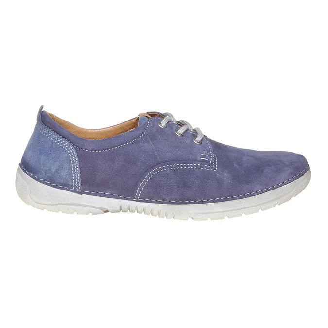 Pánská kožená obuv weinbrenner, modrá, 846-9657 - 15