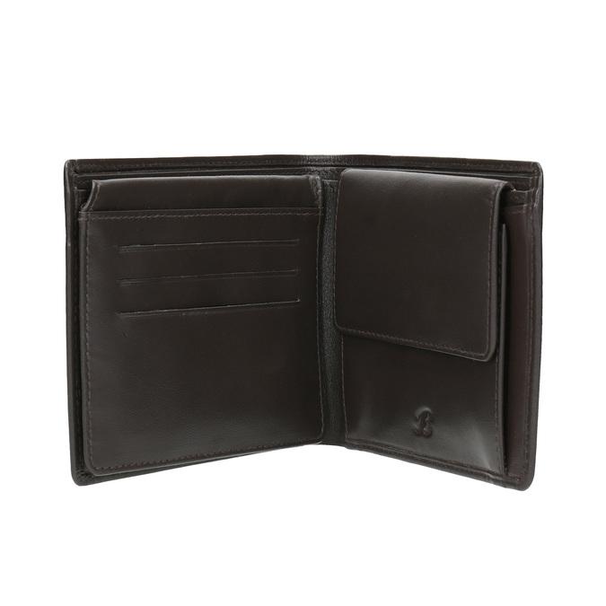 Kožená pánská peněženka bata, černá, 944-4170 - 15