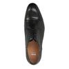 Černé kožené polobotky bata, černá, 824-6769 - 19