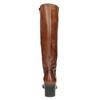 Kožené dámské kozačky bata, hnědá, 694-3361 - 17