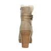 Kotníčková obuv s kožíškem bata, šedá, 793-2600 - 17