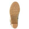 Kotníčková obuv s kožíškem bata, šedá, 793-2600 - 26