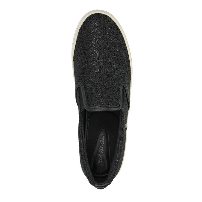 Dámská obuv ve stylu Slip-on u-s-polo-assn-, černá, 511-6070 - 19