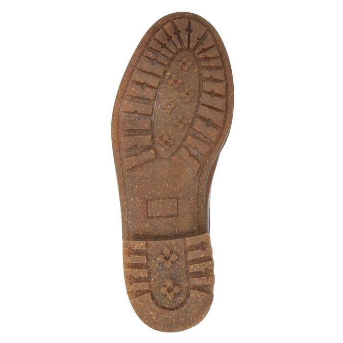 Kotníčková obuv v Ombré stylu bata, hnědá, 896-3647 - 26