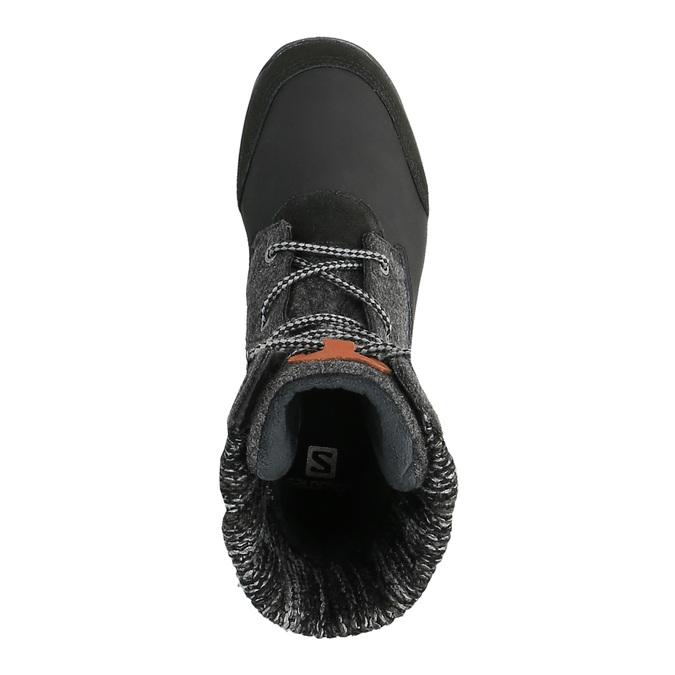 Dámská zimní obuv salomon, černá, 693-6050 - 19