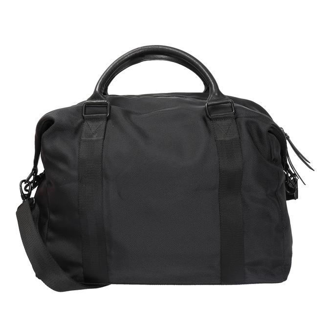 Textilní taška do ruky vagabond, černá, 969-6001 - 19