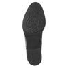 Dámské kožené kozačky nad kolena geox, černá, 594-6036 - 26