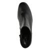 Kožená kotníčková obuv hogl, černá, 794-6003 - 19