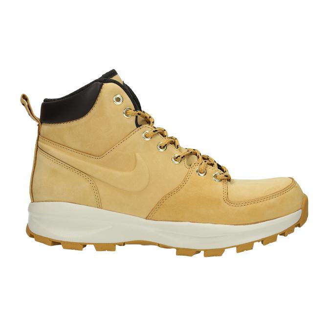 Pánská kožená kotníčková obuv nike, žlutá, 806-8435 - 15