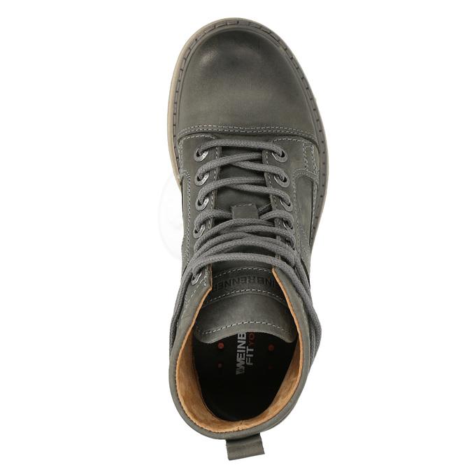 Dámská kotníčková obuv weinbrenner, šedá, 594-2409 - 19