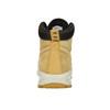 Pánská kožená kotníčková obuv nike, žlutá, 806-8435 - 17