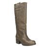 Kožené kozačky ve Western stylu bata, hnědá, 696-2608 - 13