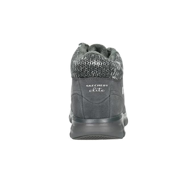 Dámská zimní obuv sportovní skechers, šedá, 503-2357 - 17