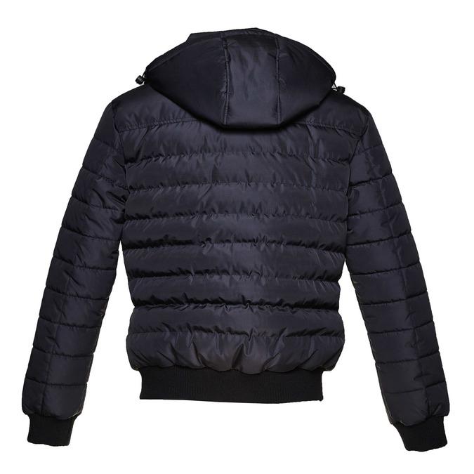Prošívaná pánská bunda se zipy bata, modrá, 979-2632 - 26