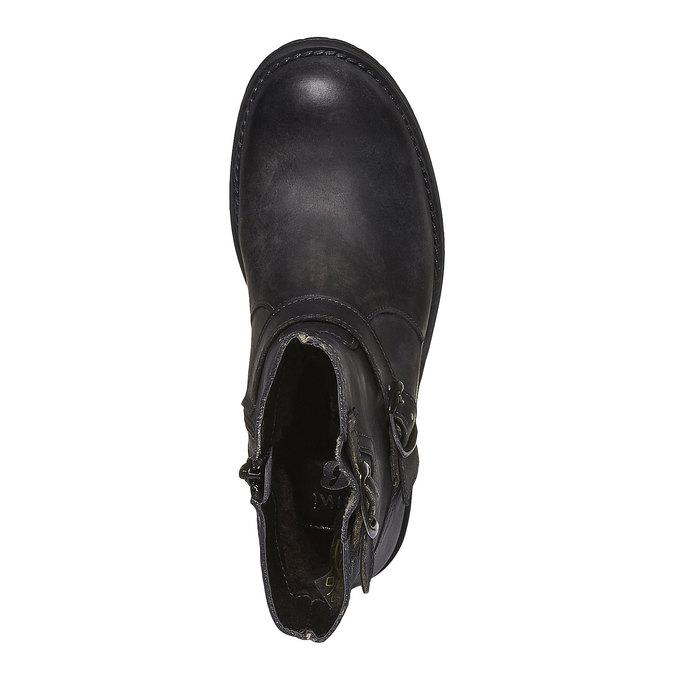Kids shoes mini-b, černá, 394-6104 - 19