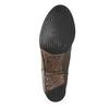 Kožené kozačky ve Western stylu bata, hnědá, 696-2608 - 26