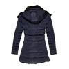Dámská zimní bunda s kožíškem bata, modrá, 979-9649 - 26