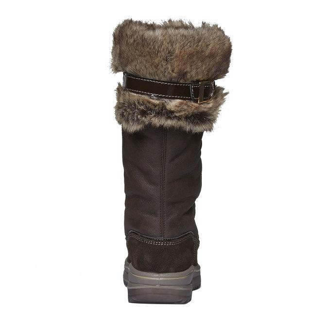 Dámské sněhule weinbrenner, hnědá, 591-4265 - 17