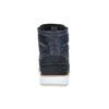 Kožená kotníčková obuv na ležérní podešvi bata, modrá, 894-2660 - 17