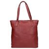 Červená kožená kabelka bata, červená, 964-5213 - 26