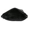 Kožená kabelka v Hobo stylu bata, černá, 964-6216 - 15