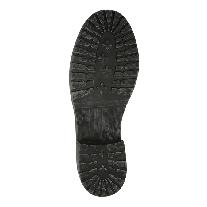 Dětská obuv s kožíškem bull-boxer, černá, 491-6008 - 26