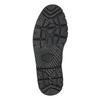Pánská kožená kotníčková obuv bata, šedá, 896-2653 - 26