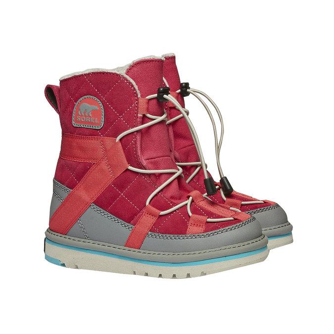 Kids shoes sorel, červená, 399-5014 - 26
