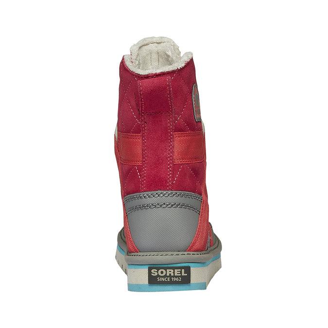 Kids shoes sorel, červená, 399-5014 - 17
