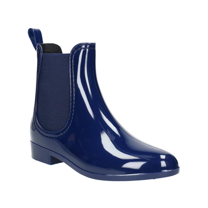Dámské holínky ve stylu Chelsea bata, modrá, 592-9114 - 13