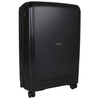 Černý cestovní kufr na kolečkách samsonite, černá, 960-6113 - 13