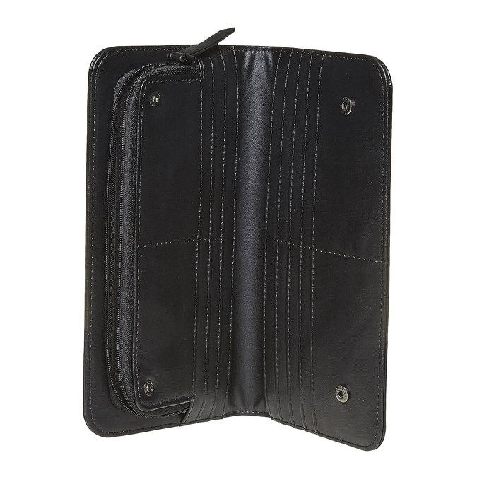 Dámská lakovaná peněženka bata, černá, 941-6144 - 15
