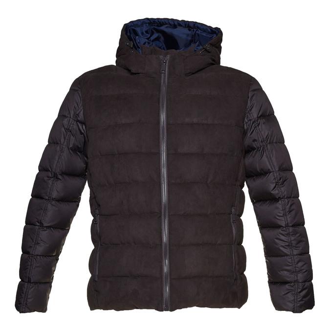 Pánská bunda s prošíváním bata, hnědá, 979-4629 - 13