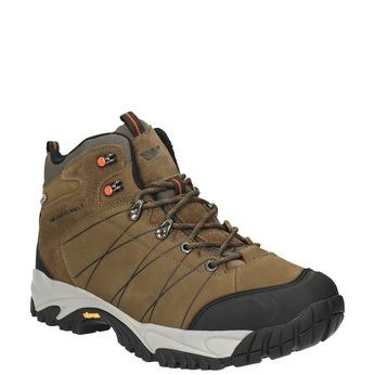 Kožená pánská Outdoor obuv weinbrenner, hnědá, 846-4601 - 13