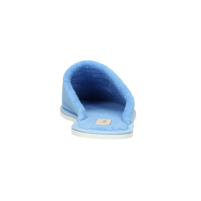 Dámská domácí obuv modrá bata, modrá, 579-9610 - 17