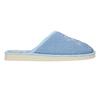 Dámská domácí obuv s kytičkou bata, modrá, 579-9605 - 15