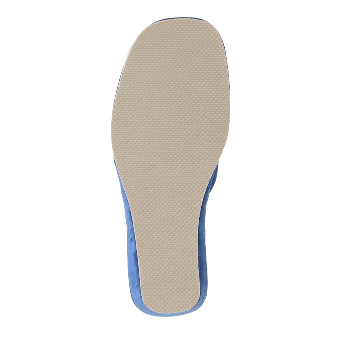 Dámská domácí obuv bata, modrá, 679-9606 - 26