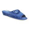 Dámská domácí obuv bata, modrá, 679-9606 - 13