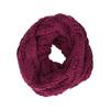 Pletená kruhová šála bata, růžová, 909-5202 - 13
