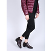 Kožená kotníčková obuv na nízkém podpatku bata, červená, 696-5613 - 18