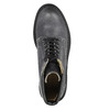 Dámská kožená kotníčková obuv weinbrenner, šedá, 596-6632 - 19