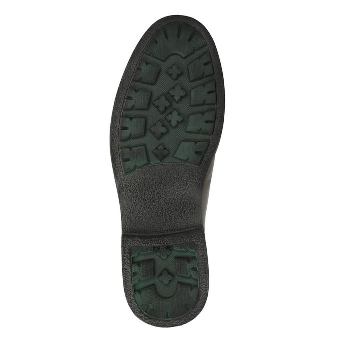 Pánská obuv s výraznou podešví bata, hnědá, 894-4651 - 26