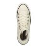 Kožené kotníčkové tenisky se zateplením converse, bílá, 596-1082 - 19