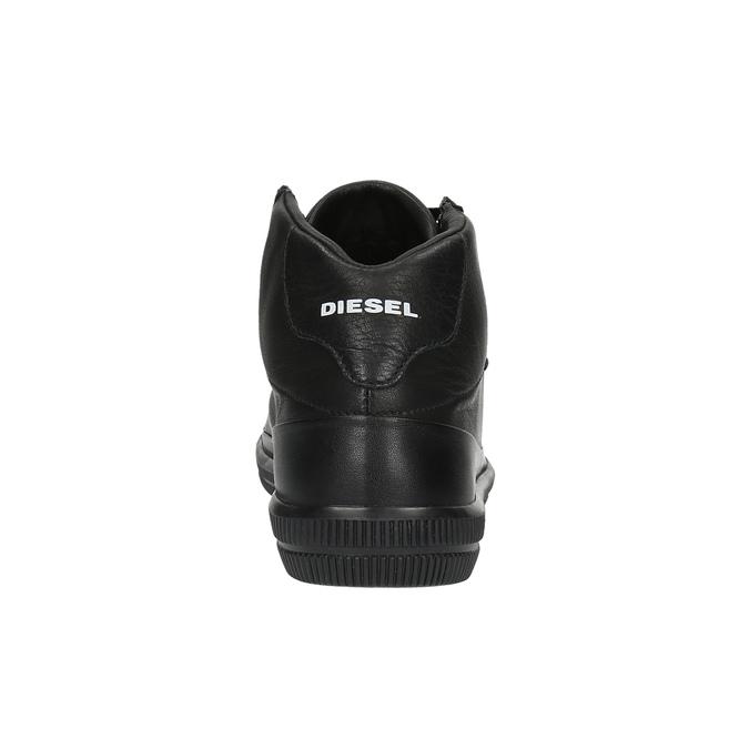 Pánské kotníčkové tenisky diesel, černá, 804-6797 - 17