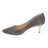 Lodičky na nízkém podpatku bata, šedá, 629-8631 - 26