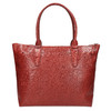Dámská kožená kabelka červená bata, červená, 966-5201 - 19