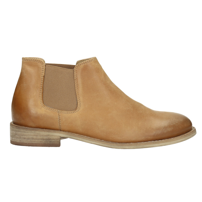 Kožené Chelsea Boots bata, hnědá, 594-3432 - 15