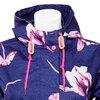 Dámská bunda s květy joules, modrá, 979-9042 - 16