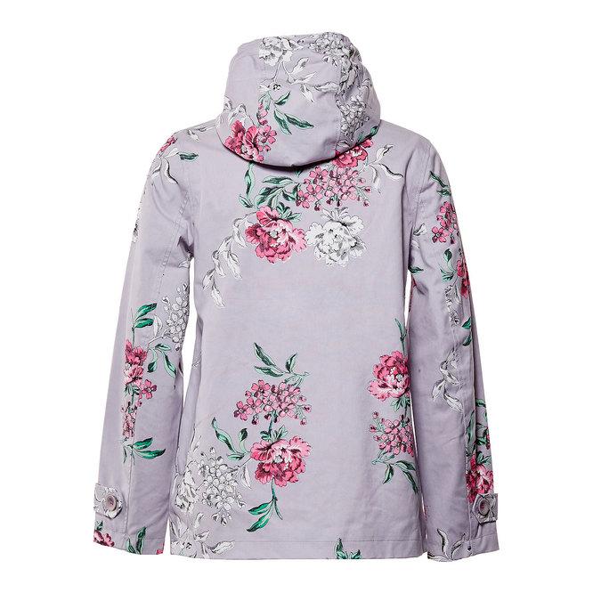 Dámská bunda s květy joules, šedá, 979-2033 - 26