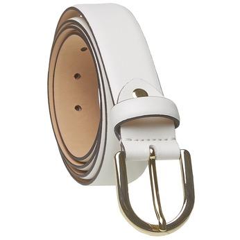 Bílý kožený opasek bata, bílá, 954-1159 - 13